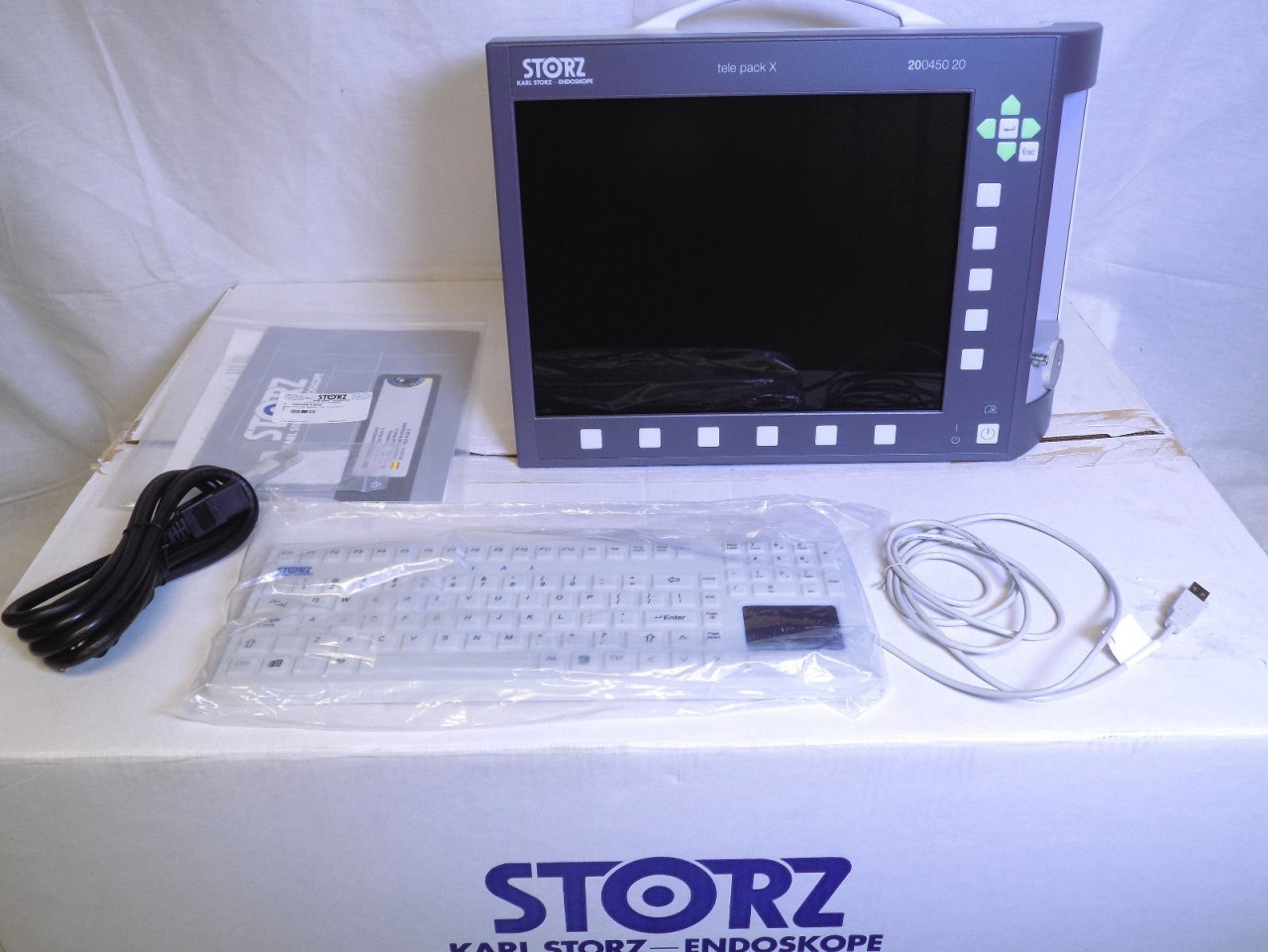 Karl Storz Tele Pack X 200450 20 Video Endoscope System